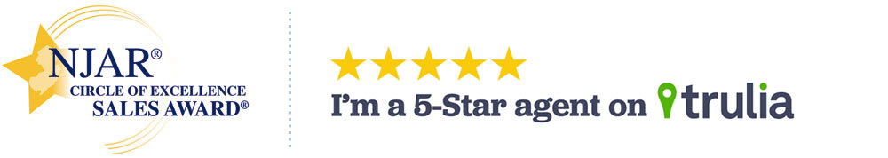 NJAR Circle of Excellence Sales Award | Five Star Agent on Trulia